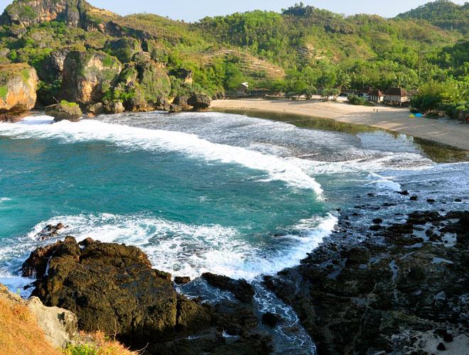 Siung Beach