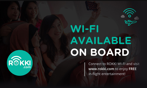 WiFi on AirAsia Indonesia