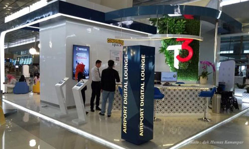Airport Digital Lounge di Bandara Soetta