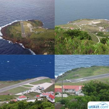 The World's Shortest Airport: Juancho E. Yrausquin