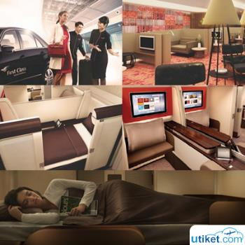 The Luxury of Garuda Indonesia First Class Facilities