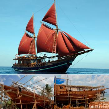 A Prideful Ship of Indonesia