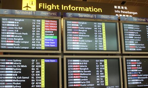 Mengenal Papan Informasi Penerbangan Bandara