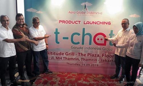 T-Chat, Pesan Tiket Garuda Lewat WA & Line