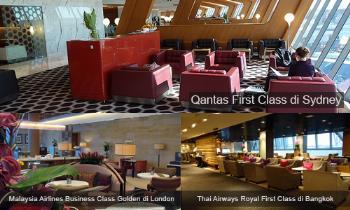 Tiga Lounge Bandara Terbaik di Dunia