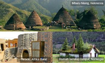 Tiga Rumah Tradisional Terunik di Dunia
