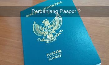 Tips Cara Perpanjang Paspor Secara Online