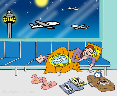 Tips to stay overnight at airport
