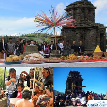Dreadlocks Hair Cutting Tradition at Dieng
