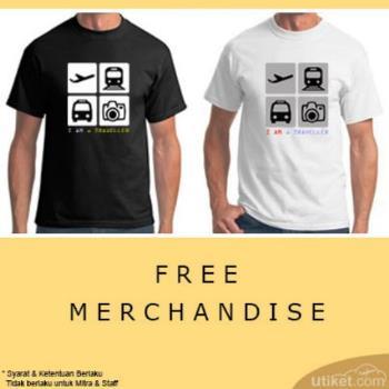 Utiket Bagi-Bagi Merchandise